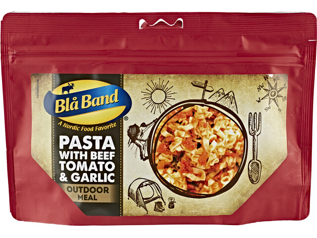 Bla Band Outdoor Meal Pasta with Beef/Tomato and Garlic